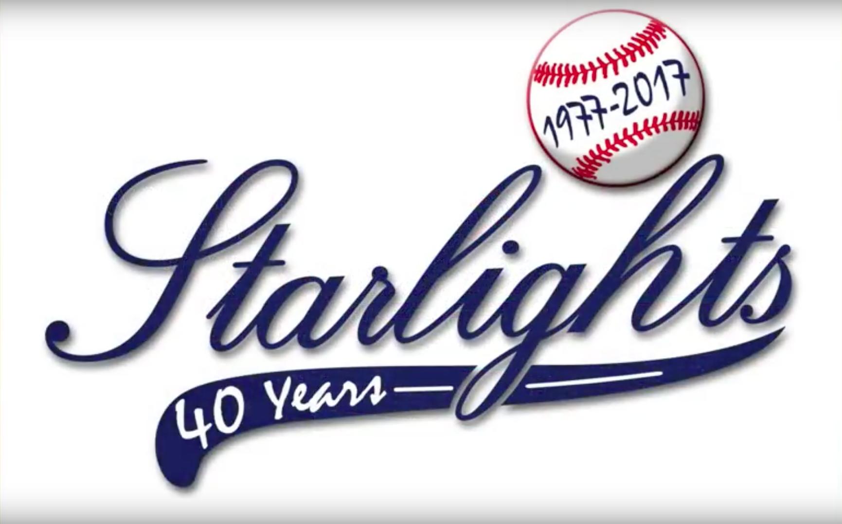 Logo Starlights 40 jaar
